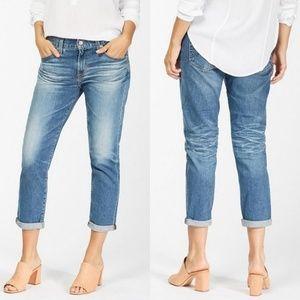 AG Goldschmied ex-boyfriend slouchy slim jeans 25